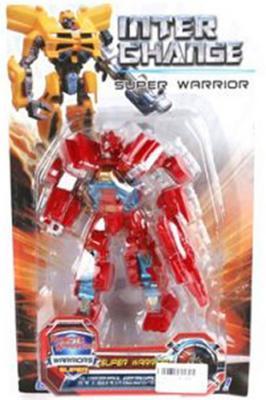 """Трансформер Shantou Gepai Робот - -машина """"Супер Воин"""" ассортимент DY2688/3"""