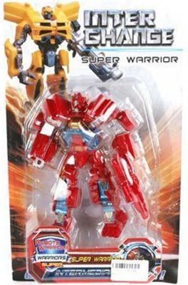 Трансформер Shantou Gepai Робот-машина Inter Change - Super Warrior DY2688/1