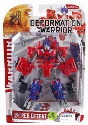 Трансформер Shantou Gepai Робот - Red Detent 5898-B21