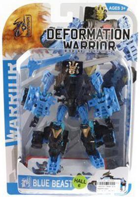 Трансформер Shantou Gepai Робот - Blue Beast — 5898-B24