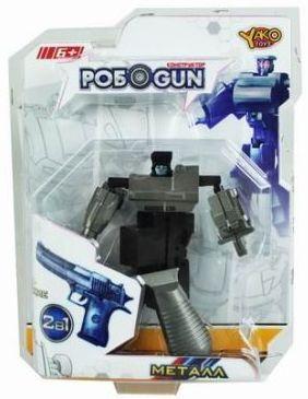 Трансформер Shantou Gepai Робот-наган M6683-2 сигнальный револьвер блеф наган