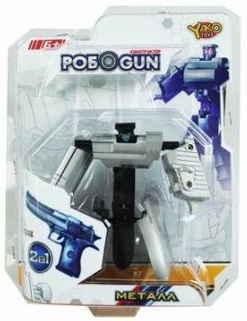 Трансформер Shantou Gepai Робот-пистолет M6683-4 пистолет shantou gepai desert eagle серый прицел гелевые пули usb зарядка 635448