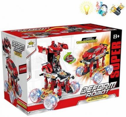 Трансформер Shantou Gepai Робот-машина р/ 21 см на радиоуправлении 200091276