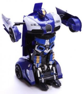Трансформер Shantou Gepai Робот-машина Полиция на радиоуправлении 200019855 игрушка shantou gepai машина перевертыш 666 858
