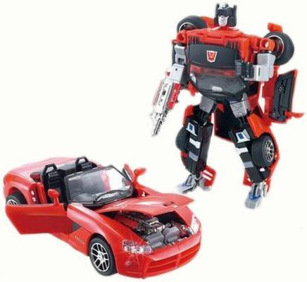 Купить Трансформер Город Игр Робот - Кабриолет XXL ассортимент D636825, Игрушки Роботы