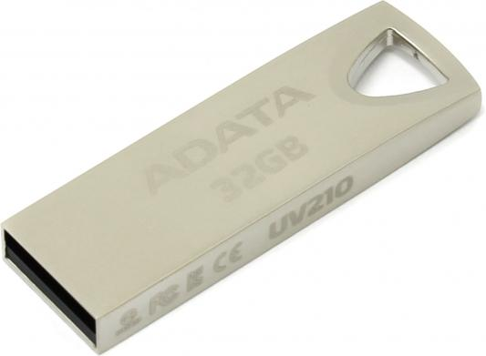 Флешка USB 32Gb A-Data UV210 AUV210-32G-RGD серебристый usb flash drive 64gb a data uv210 silver auv210 64g rgd