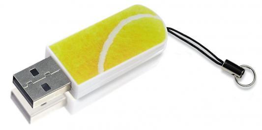 Флешка USB 16Gb Verbatim Mini Sport Edition 98683 USB2.0 теннис