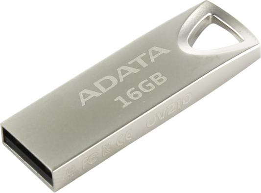 Флешка USB 16Gb A-Data UV210 USB2.0 AUV210-16G-RGD серебристый usb flash drive 64gb a data uv210 silver auv210 64g rgd