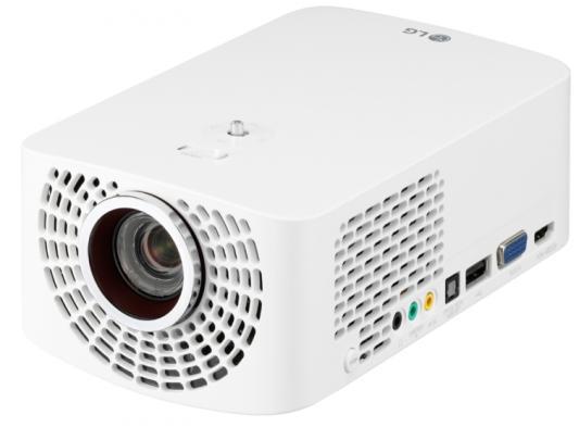 Проектор LG PF1500G 1920х1080 1400 люмен 150000:1 белый yobbom фунт звук звук домашний домашний кинотеатр аудио беспроводной bluetooth wifi аудио