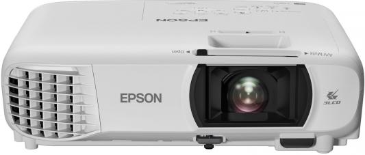 Проектор Epson EH-TW610 1920х1080 3000 люмен 10000:1 белый V11H849140 awo replacement projector lamp elplp85 v13h010l85 with housing for epson projectors eh tw6600 eh tw6600w powerlite hc3000 hc3500