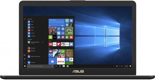 Ноутбук ASUS VivoBook Pro 17 N705UD-GC072T 17.3 1920x1080 Intel Core i7-8550U 90NB0GA1-M02140 ноутбук asus rog gl753vd gc140 17 3 1920x1080 intel core i7 7700hq