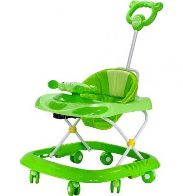 Ходунки Everflo Весёлый крабик (зелёный)