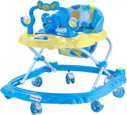 Ходунки Everflo Мышонок (синий)