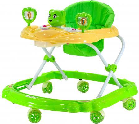Ходунки Everflo Медвежонок (зеленый)