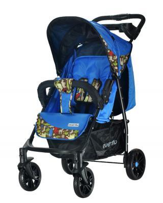 Прогулочная коляска Everflo Safari Luxe (blue)