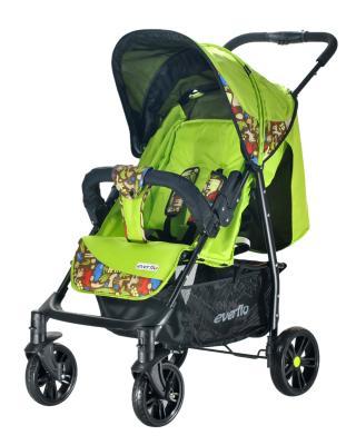 Фото - Прогулочная коляска Everflo Safari Luxe E-230 (green) коляска прогулочная everflo safari grey e 230 luxe