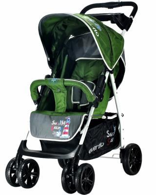 Фото - Прогулочная коляска Everflo Strong Capitan E-230 (green) коляска прогулочная everflo safari grey e 230 luxe