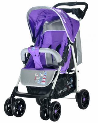 Купить Прогулочная коляска Everflo Strong Capitan (purple), фиолетовый, Прогулочные коляски