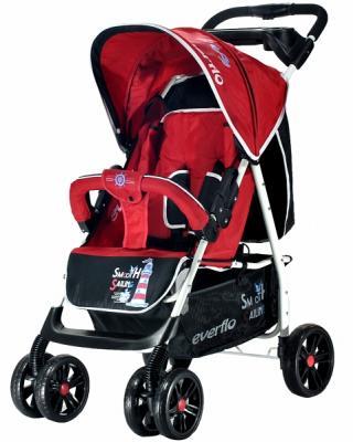 Фото - Прогулочная коляска Everflo Strong Capitan (red) коляска прогулочная everflo baby travel e 330 red
