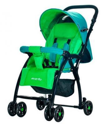 Прогулочная коляска Everflo Strong Cricket (green) блуза tutto bene plus tutto bene plus tu007eweubv0