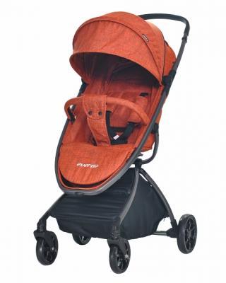Фото - Прогулочная коляска Everflo Easy Guard (mango) коляска прогулочная everflo safari grey e 230 luxe
