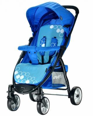 Фото - Прогулочная коляска Everflo Friend (blue) коляска прогулочная everflo country blue e 940