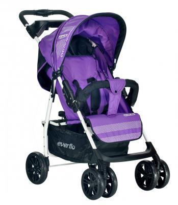 Купить Прогулочная коляска Everflo Luxe (purple), фиолетовый, Прогулочные коляски