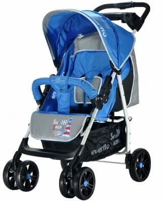 Прогулочная коляска Everflo Strong Capitan (blue) прогулочная коляска everflo friend blue