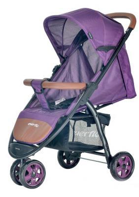 Купить Прогулочная коляска Everflo Racing (purple), фиолетовый, Прогулочные коляски