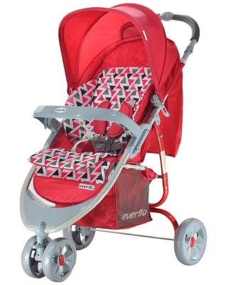 Фото - Прогулочная коляска Everflo Country (red) коляска прогулочная everflo safari grey e 230 luxe