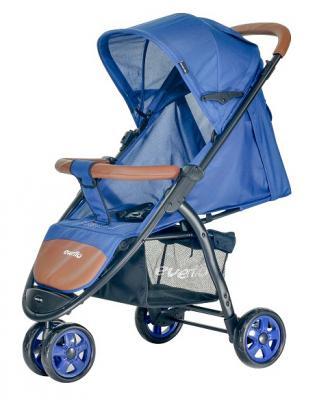 Прогулочная коляска Everflo Racing (blue) коляска everflo cruise deep blue e 550 пп100004173