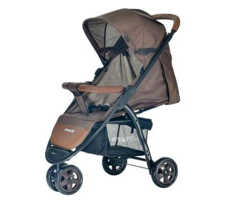 Фото - Прогулочная коляска Everflo Racing (brown) коляска прогулочная everflo safari grey e 230 luxe