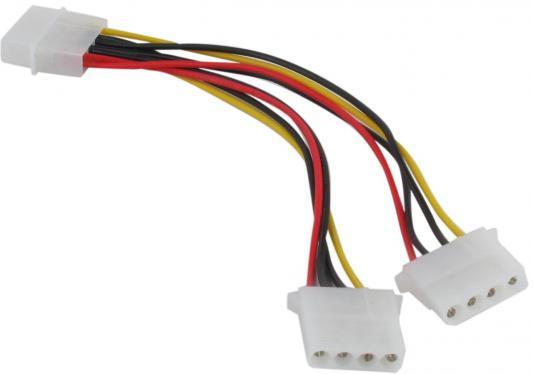 Размножитель питания IDE-устройств VCom VPW7570 1-> 2 big 5+12V maiwo k3502 u2i aluminum alloy usb 2 0 ide 3 5 ide hdd enclosure set black