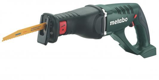 Сабельная пила Metabo ASE 18 LTX 602269850 аккумуляторная ножовка metabo ase 18 ltx 602269610