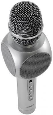 Микрофон Gmini GM-BTKP-03S серебристый футболка wearcraft premium printio kirill obey
