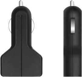 Автомобильное зарядное устройство Prime Line 2211 2 х USB 2.1A черный зарядное устройство prime line 2a usb black 2311