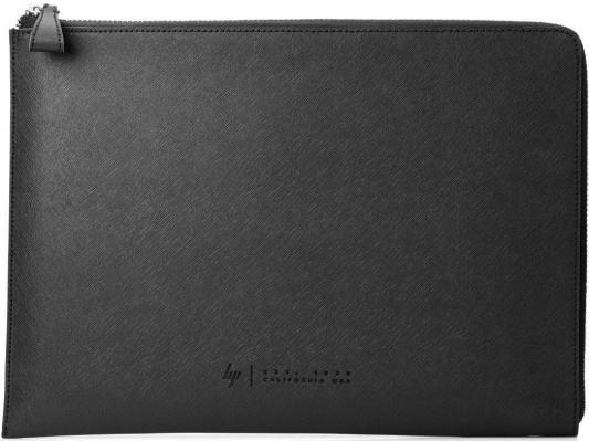 Фото - Чехол для ноутбука 15.6 HP Spectre кожа черный 1ZX69AA сумка для ноутбука 14 hp spectre slim topload 1pd70aa замша полиуретан сплит кожа черный серый