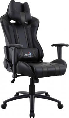 Кресло компьютерное игровое Aerocool AC120 AIR-B черный с перфорацией 4713105968309 ac120 rgb b
