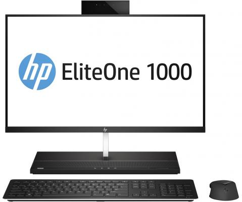 Моноблок 27 HP EliteOne 1000 G1 AiO 3840 x 2160 Intel Core i5-7500 8Gb 1Tb Intel HD Graphics 630 Windows 10 Professional черный 2LT98EA моноблок 27 hp eliteone 1000 g1 aio 3840 x 2160 intel core i7 7700 8gb ssd 256 intel hd graphics 630 windows 10 professional черный 2lu00ea