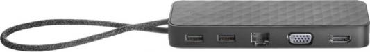 Док станция для ноутбуков HP USB-C Mini Dock 1PM64AA цены онлайн