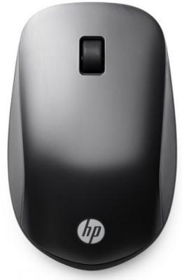 Мышь беспроводная HP Slim Bluetooth Mouse чёрный Bluetooth F3J92AA мышь беспроводная hp h6e52aa touch to pair чёрный bluetooth