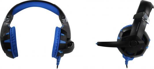 Гарнитура Dialog Gan-Kata HGK-34L черный синий наушники dialog ep f15 синий