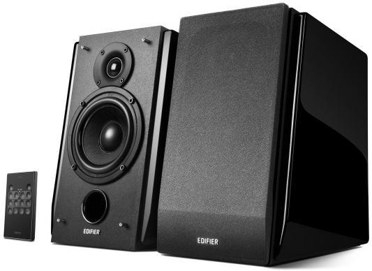 Колонки Edifier R1850DB 2x35 Вт черный bluetooth speaker edifier r1850db active bookshelf speakers optical input digital audio portable music audio line