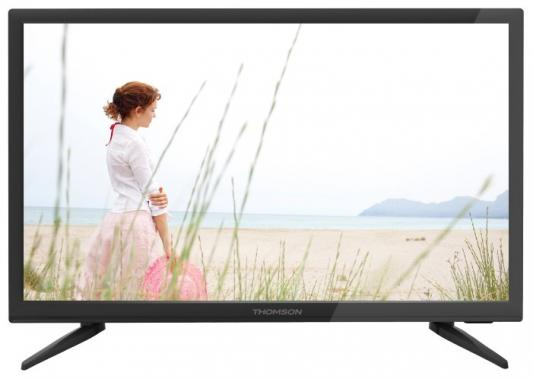 Телевизор Thomson T22FTE1020 черный телевизор thomson t43d19sfs