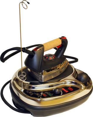 Парогенератор MIE Stiro Nonstop 1300Вт чёрный серебристый парогенератор для отогрева подземного водопровода