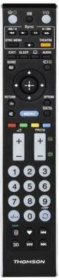 Пульт ДУ Thomson H-132500 универсальный Sony TVs черный пульт ду thomson h 132502 универсальный panasonic tvs черный