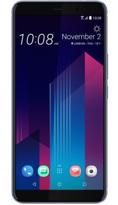 Смартфон HTC U11+ 128 Гб серебристый (99HANE053-00) смартфон htc u ultra 64 гб белый 99halu071 00