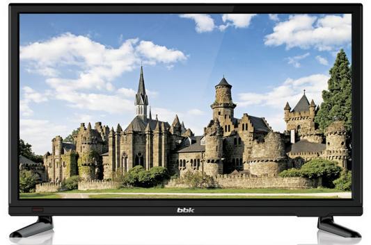 Телевизор BBK 20LEM-1046/T2C черный аудиомагнитола bbk bs01 черный и белый