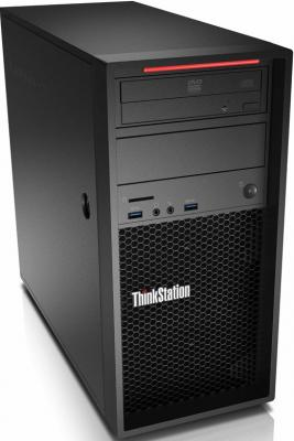 Системный блок Lenovo ThinkStation P320 E3-1245v6 3.7GHz 8Gb 256Gb SSD HD630 DVD-RW Win10Pro черный 30BH004RRU диски dvd rw 8gb в минске