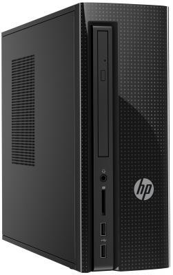 Системный блок HP 260-p137ur i3-6100T 3.2GHz 4Gb 1Tb HD530 DVD-RW DOS клавиатура мышь черный 1EV02EA
